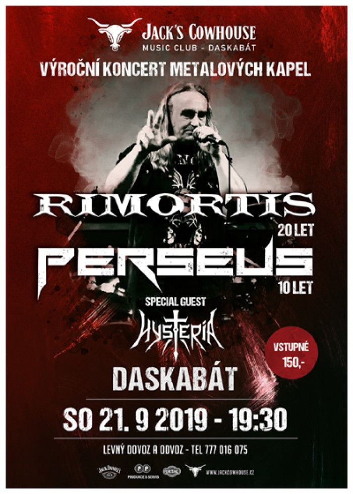 Rimortis,Perseus,Hysteria - Výroční koncert / Daskabat