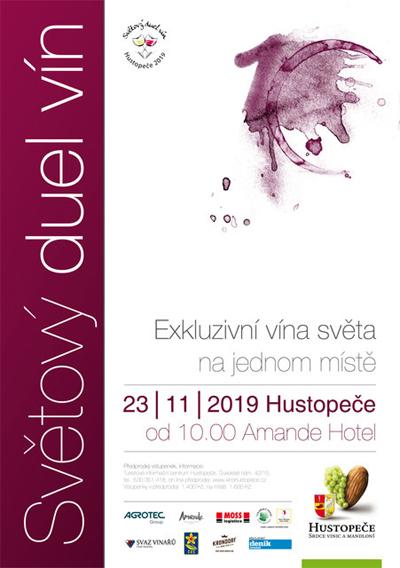 Světový duel vín 2019 - Hustopeče