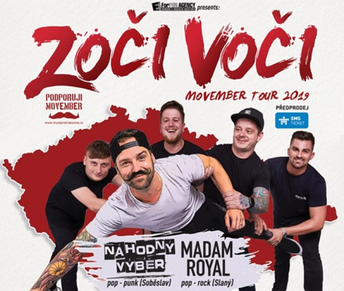 09.11.2019 - Zoči Voči - Movember Tour 2019 / Loštice