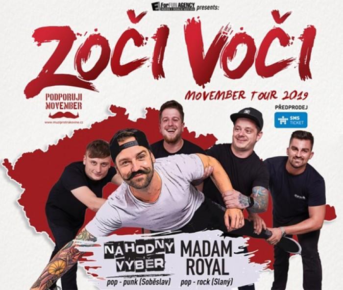16.11.2019 - Zoči Voči - Movember Tour 2019 / Havlíčkův Brod