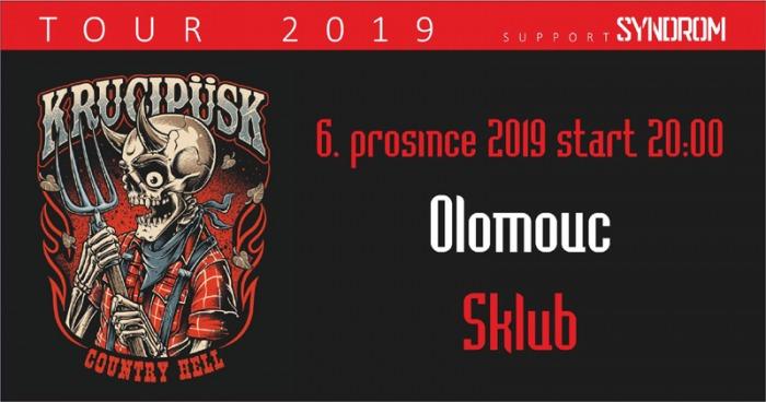 06.12.2019 - Krucipüsk - Country Hell tour 2019 / Olomouc
