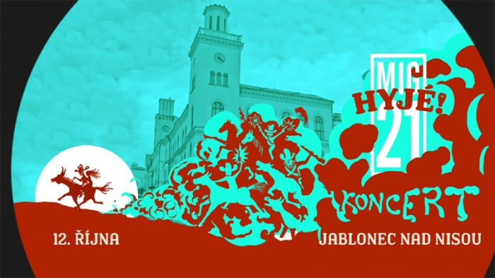 12.10.2019 - MIG 21: Hyjé! tour 2019 - Jablonec nad Nisou