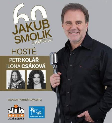 15.10.2019 - JAKUB SMOLÍK 60 - Koncert / Velké Meziříčí