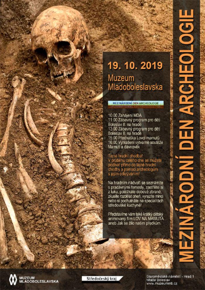 19.10.2019 - Mezinárodní den archeologie - Mladá Boleslav