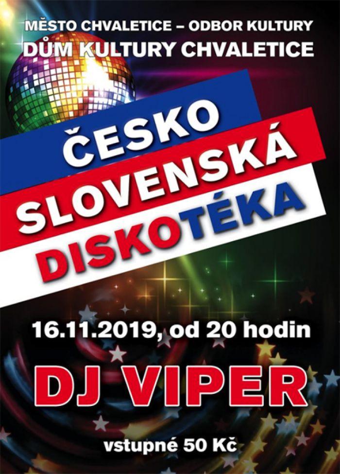 16.11.2019 - Československá diskotéka - Chvaletice