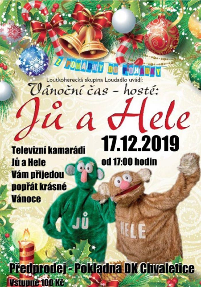 Vánoční čas - hosté: Jů a Hele / Chvaletice