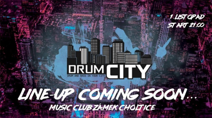 DrumCity / Choltice