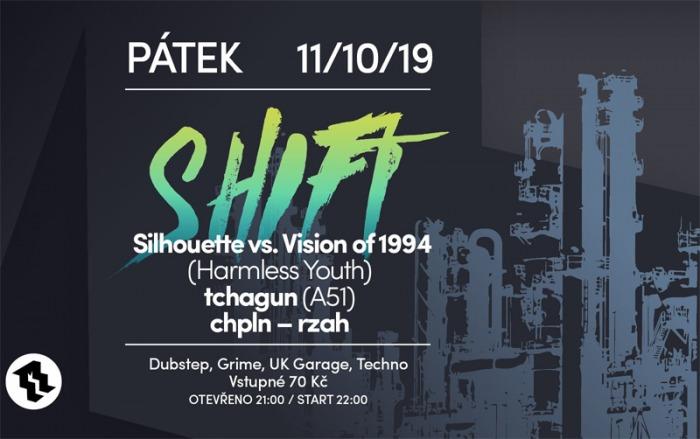 11.10.2019 - Shift w/ Silhouette vs Vision of 1994 - Beroun