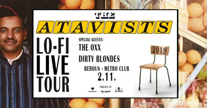 The Atavists - Lo-Fi Live tour / Beroun