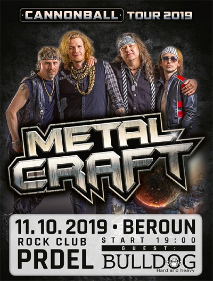 11.10.2019 - MetalCraft + Bulldog / Beroun