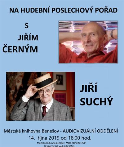 Hudební poslechový pořad s Jiřím Černým - Benešov