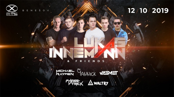 12.10.2019 - Lukas Innemann & Friends vol. 01 - Benešov