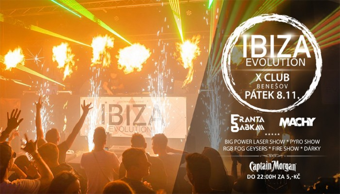 08.11.2019 - Ibiza Evolution - Benešov