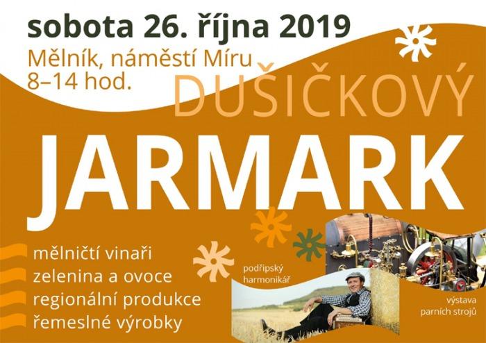 26.10.2019 - Jarmark dušičkový - Mělník