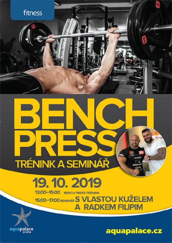 Bench press trénink + seminář - Čestlice