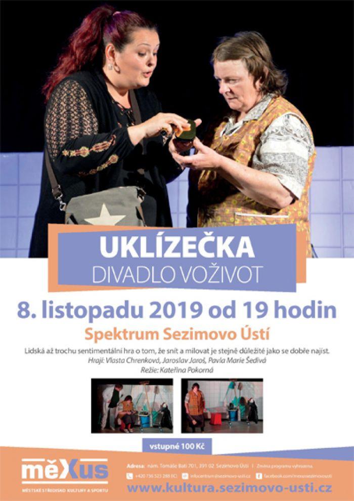 08.11.2019 - Uklízečka - Divadlo / Sezimovo Ustí
