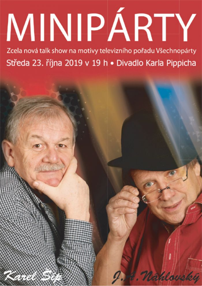 23.10.2019 - Miniparty s Karlem Šípem / Chrudim