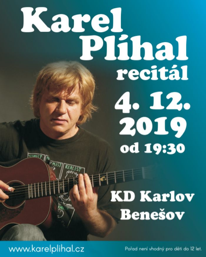 04.12.2019 - Karel Plíhal - Recitál / Benešov
