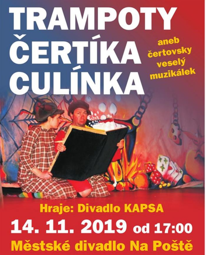 14.11.2019 - Trampoty čertíka Culínka - Pro děti / Benešov