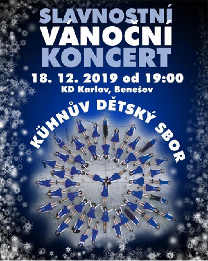 18.12.2019 - Slavnostní vánoční koncert / Benešov