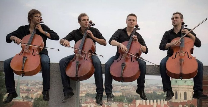 Prague Cello Quartet - Koncert  / Jičín