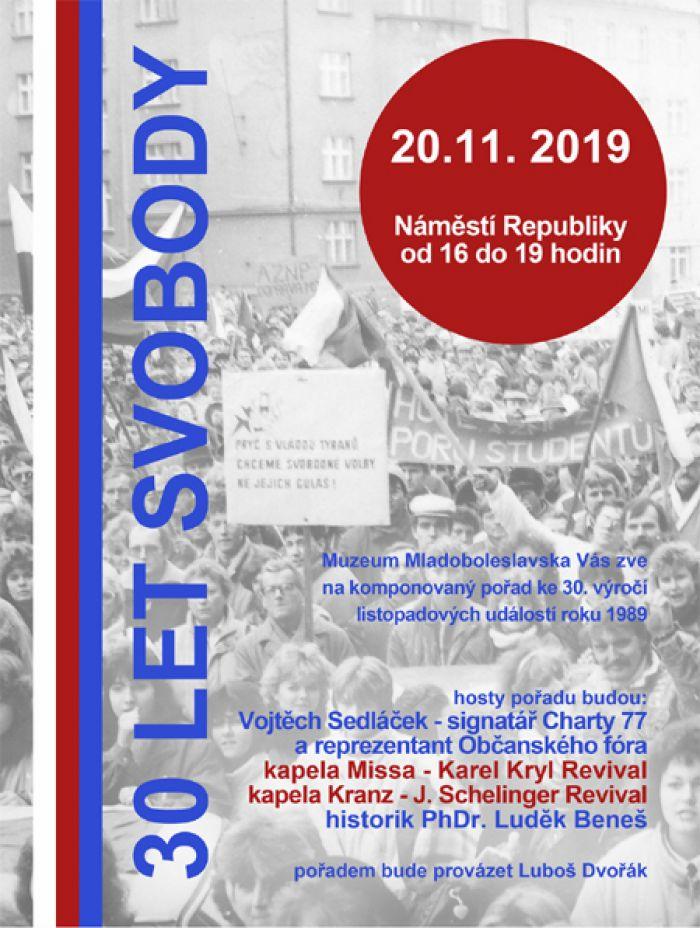 30 let svobody - Koncert / Mladá Boleslav
