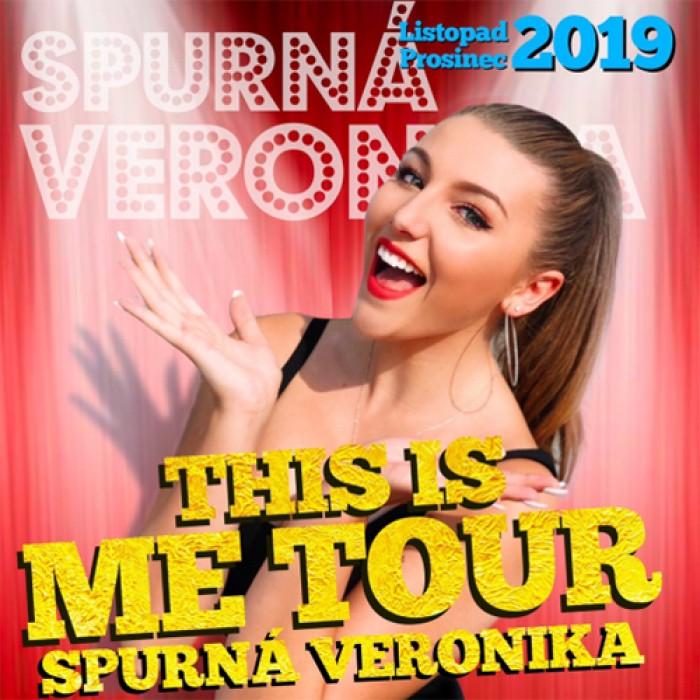 07.12.2019 - Veronika Spurná -This is ME TOUR / Hradec Králové