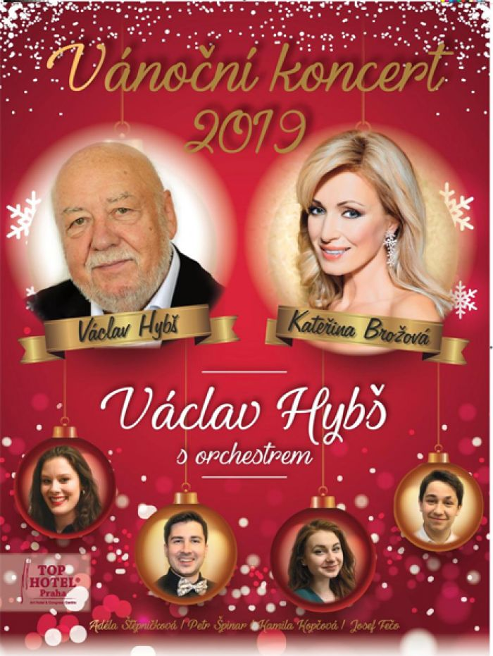 19.12.2019 - Václav Hybš s orchestrem - Vánoční koncert / Nová Paka