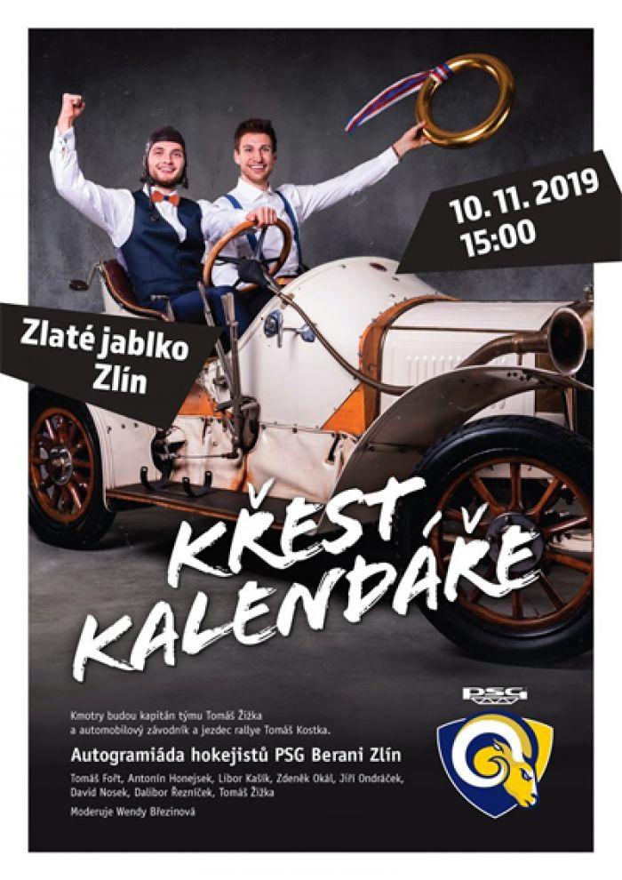 10.11.2019 - BERANI POKŘTÍ HOKEJOVÝ KALENDÁŘ - Zlín