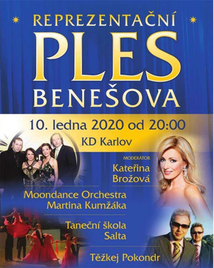 10.01.2020 - Ples Benešova 2020