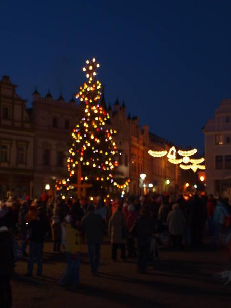 Rozsvícení vánočního stromu - Havlíčkův Brod