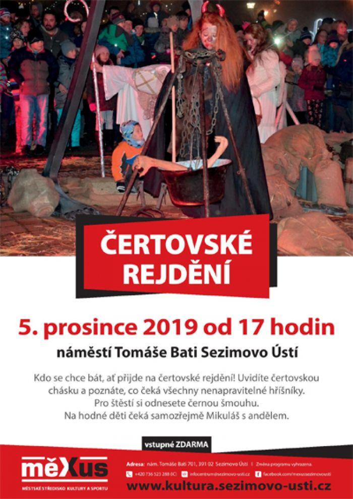 05.12.2019 - Čertovské rejdění - Sezimovo Ústí