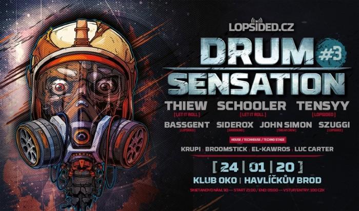 24.01.2020 - Drum Sensation /Thiew /Schooler - Havlíčkův Brod