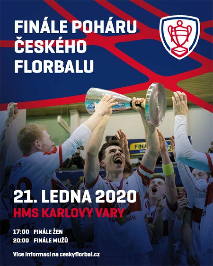 Finále 2020 Poháru Českého florbalu - Karlovy Vary