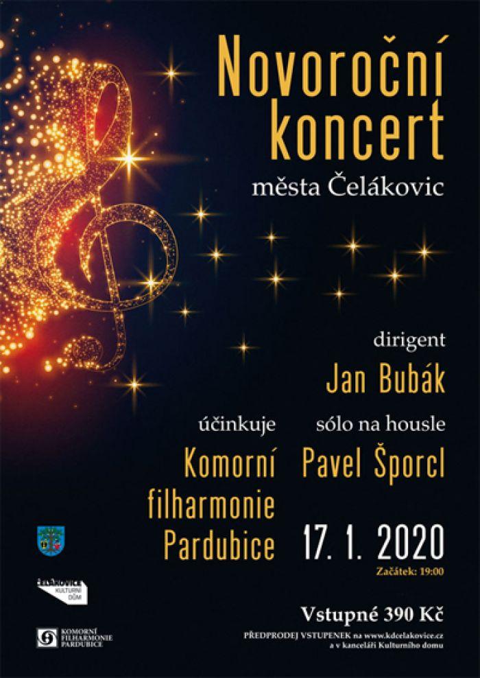 17.01.2020 - Novoroční koncert města Čelákovic