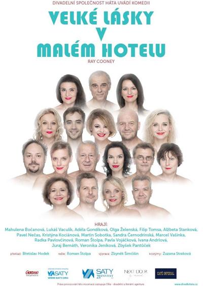 23.01.2020 - Velké lásky v malém hotelu - Divadlo / Čelákovice