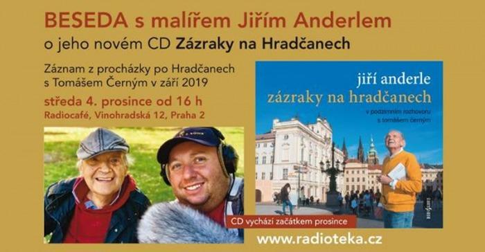 04.12.2019 - Zázraky na Hradčanech - Křest CD Jiřího Anderleho / Praha