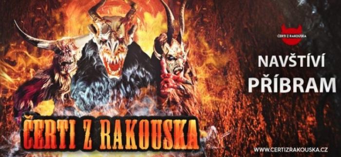 06.12.2019 - ČERTI Z RAKOUSKA - Příbram