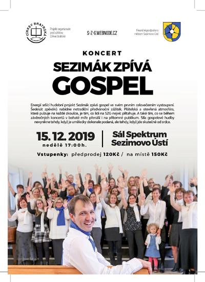 Sezimák zpívá gospel - Sezimovo Ústí