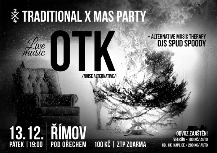 OTK /noise alternative/ + Djs Spud Spoody - Římov