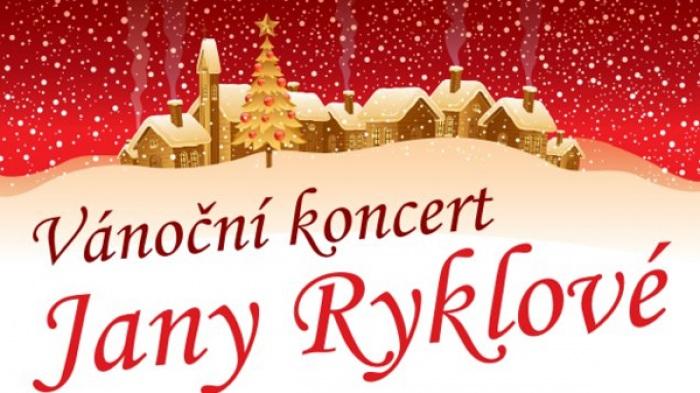 Vánoční koncert Jany Ryklové - Poděbrady