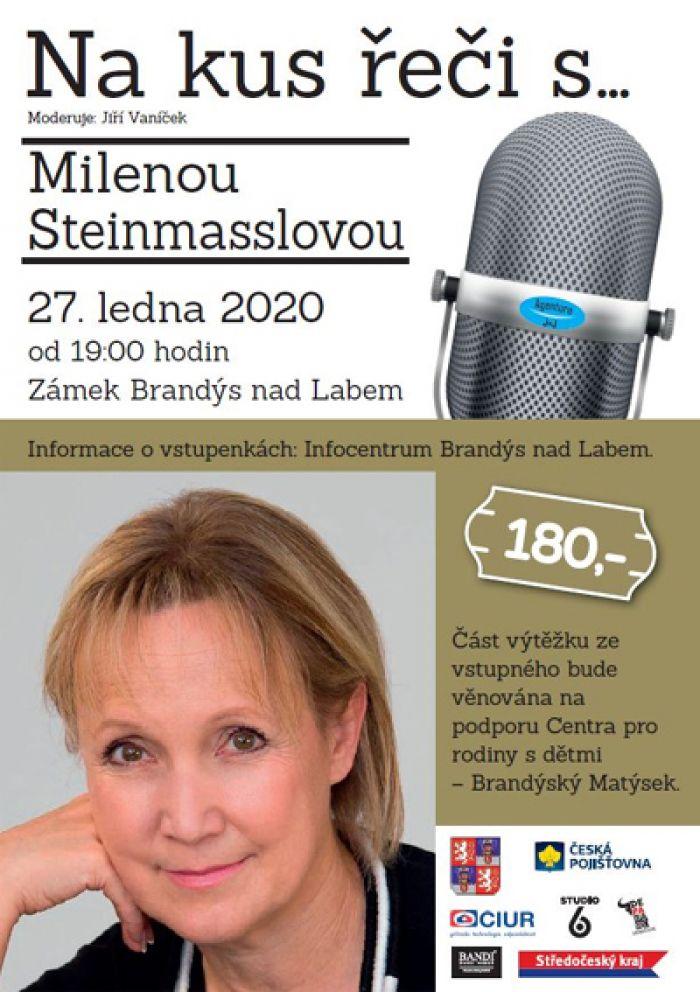 27.01.2020 - Na kus řeči s... Milenou Steinmasslovou / Brandýs nad Labem