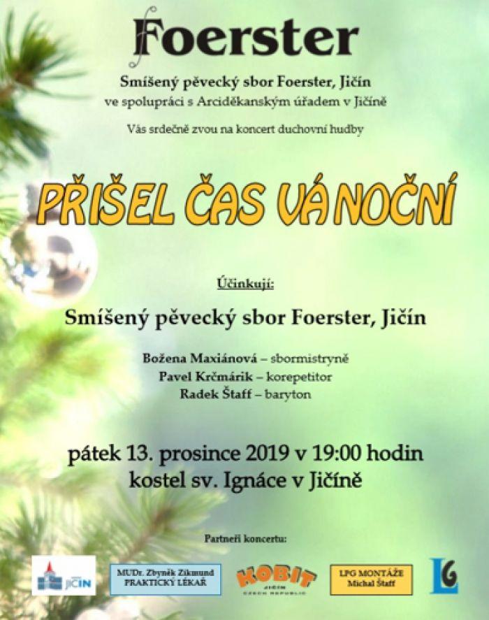 Přišel čas vánoční - Koncert / Jičín