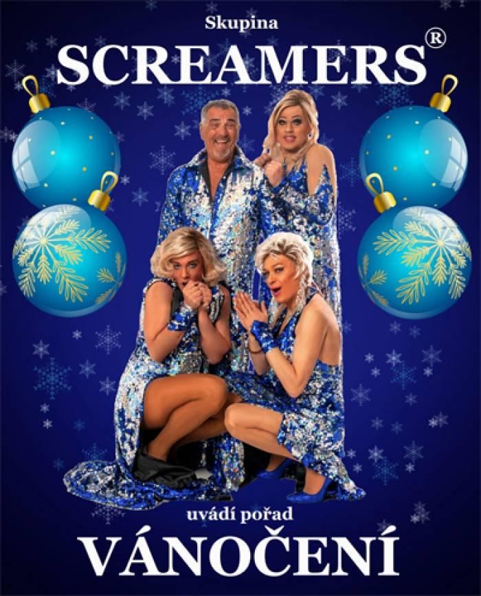 Travesti skupina Screamers - Vánočení / Opava