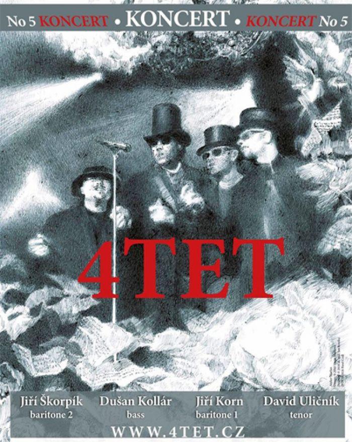 4TET - Koncert, verze V. / Mělník