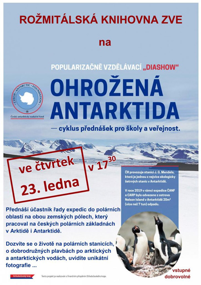 Ohrožená Antarktida - Přednáška / Rožmitál pod Třemšínem