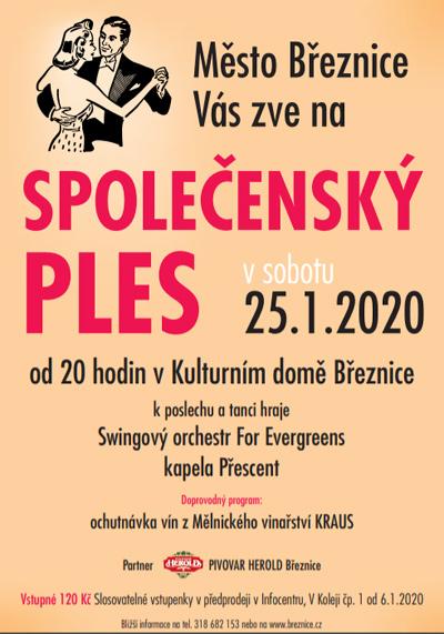 Společenský ples 2020 - Březnice