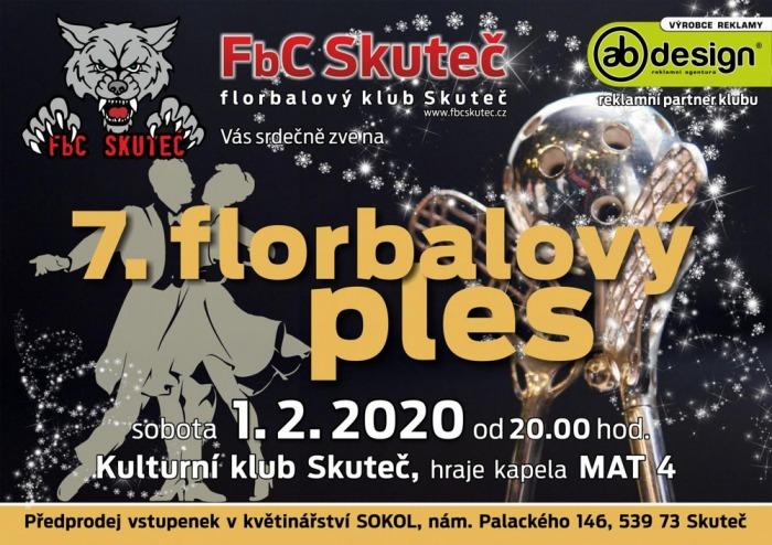 Florbalový ples - Skuteč
