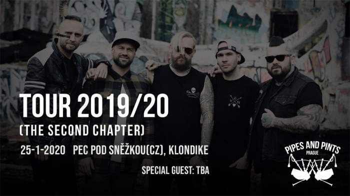 25.01.2020 - The Second Chapter TOUR - Pipes and Pints / Pec pod Sněžkou