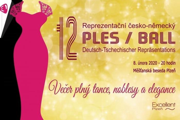 08.02.2020 - 12. reprezentační česko-německý ples 2020 - Plzeň